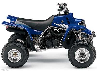 ATV: 2005 YAMAHA ATVS